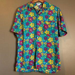 3 for $20! Men's floral button down top